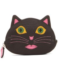 ILI - Cat Leather Coin Purse - Lyst