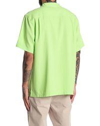 Tommy Bahama Royal Bermuda Short Sleeve Regular Fit Shirt - Green