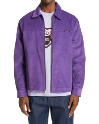 Noon Goons Miles Men's Corduroy Jacket - Purple