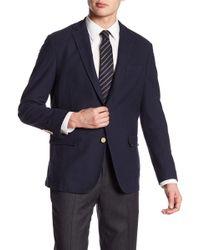 Brooks Brothers | Navy Three Button Sport Coat | Lyst