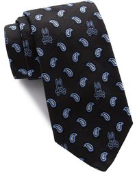 Psycho Bunny Silk Pine Tie - Multicolour