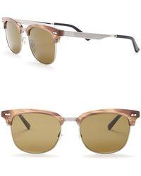44c017a8cf4 Lyst - Gucci 1075 Wayfarer Sunglasses in Blue for Men