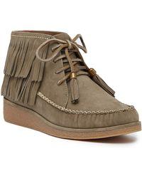 42c7418913f Lyst - Ugg Ugg Caleb Fringe Boot in Brown