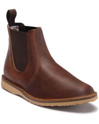 Red Wing - Weekend Water Resistant Leather Chelsea Boot - Factory Second - Lyst