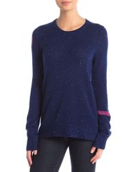 FREE CITY - Electric Space Cashmere Crew Neck Pullover - Lyst