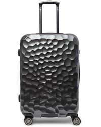 "Kenneth Cole Reaction - Fifth Avenue 24"" Embossed Metallic Spinner Luggage - Lyst"