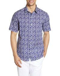 Zachary Prell - Eubank Regular Fit Print Sport Shirt - Lyst