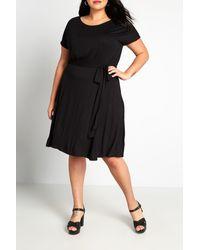 ModCloth Love Every Moment Midi Dress - Black