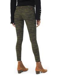 Joe's Jeans Charlie High Waist Cargo Ankle Skinny Jeans - Green