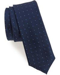 Calibrate - Pebble Dot Silk Tie - Lyst