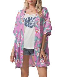 Rip Curl - Hot Shot Kimono - Lyst