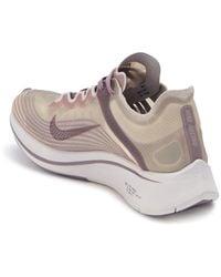 Nike Lab Zoom Fly Running Shoe - Grey