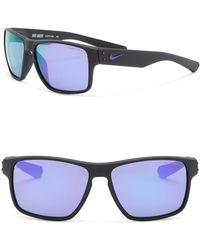 Nike - Men's Mavrk 59mm Square Sunglasses - Lyst