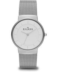 Skagen - Women's Nicoline Stainless Steel Watch, 32mm - Lyst