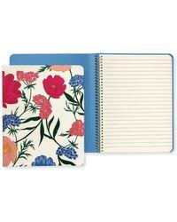 Kate Spade - Blossom Concealed Spiral Notebook - Lyst