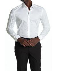 Reiss - Hanso Slim Fit Tonal Stripe Shirt - Lyst