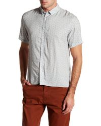 Billy Reid - Murphey Short Sleeve Slim Fit Shirt - Lyst