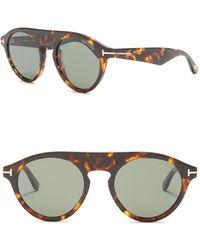 e969993328fd Nordstrom Rack · Tom Ford - 49mm Round Sunglasses - Lyst