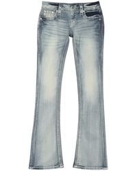 Rock Revival Brunella Boot Cut Jeans - Blue