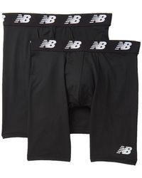 "New Balance - Premium Performance 9"" Boxer Briefs - Pack Of 2 - Lyst"