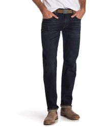 7 For All Mankind - Standard Slim Straight Leg Jeans - Lyst