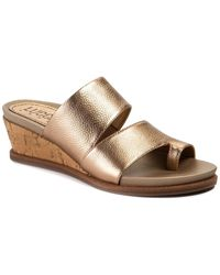 Lucca Lane Whitley Wedge Sandal - Multicolor