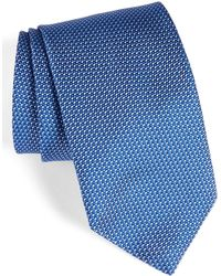 David Donahue - Solid Silk Tie - Lyst
