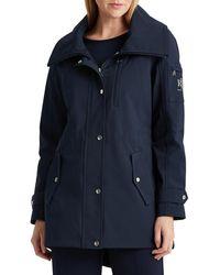Lauren by Ralph Lauren Softshell Packable Hood Jacket - Blue