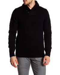 Dockers - Shawl Collar Wool Blend Sweater - Lyst