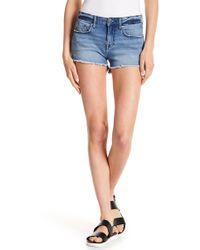 Vigoss - Marley Frayed Shorts - Lyst