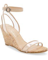 Matisse Visions Wedge Sandal - Natural