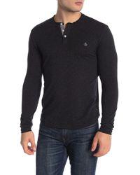 Original Penguin - Nep Henley Sweater - Lyst