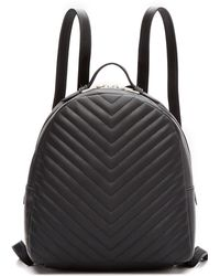 Steve Madden - Chevron Quilted Backpack - Lyst