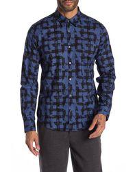 John Varvatos Mayfield Sport Shirt - Blue