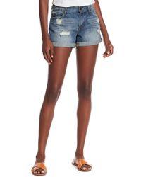 Articles of Society Behy Denim Shorts - Blue