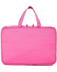 Kestrel - Solid Pink Weekend Organizer Bag - Lyst