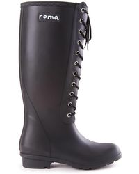 Roma - Opinca Matte Waterproof Rain Boot - Lyst
