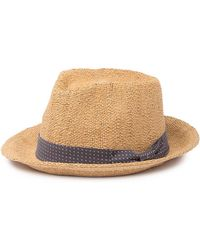 b0ea3c2a Brixton Field Wide Brim Felt Fedora Hat in Black for Men - Save 31% - Lyst