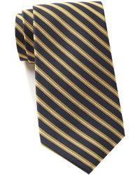 Tommy Hilfiger - Silk Smithfield Stripe Tie - Lyst