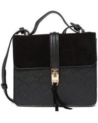Moda Luxe Piper Clutch Tote - Black