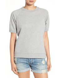 Sincerely Jules - Cara Short Sleeve Sweatshirt - Lyst