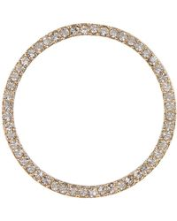 Vince Camuto - Crystal Accent Circle Stud Earrings - Lyst
