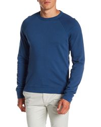 Theory - Ronney Alcove Terry Pullover - Lyst