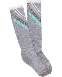Smartwool - Phd Ski Ultra Light Pattern Knee High Socks - Lyst