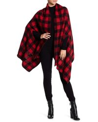 Michael Stars | Buffalo Check Cape Scarf | Lyst