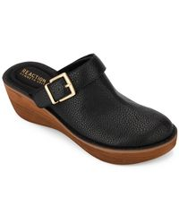 Kenneth Cole Reaction Prime 2-way Buckle Clog - Black