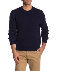 Brooks Brothers - Foulard Crew Neck Sweater - Lyst