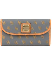 Dooney & Bourke Blakely Signature Continental Wallet - Multicolour