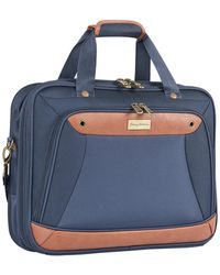 "Tommy Bahama Barnes Bay 17"" Briefcase - Blue"