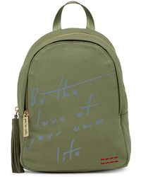 Peace Love World - Love Of Your Own Life Denim Backpack - Lyst